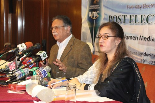 FIVE-DAY MEDIA TRAINING COURSE ON POST-ELECTION REPORTING SUCCESSFULLY COMPLETED IN LAHORE