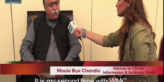 Interview of Maula Bux Chandio, Advisor to Minister for Information & Archives.