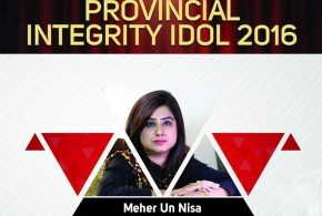 Success Story: Meher un Nisa won 'Integrity Idol Sindh 2016' award