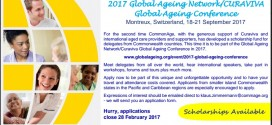 2017 Global Ageing Network/CURAVIVA Global Ageing Conference, 18-21 September 2017