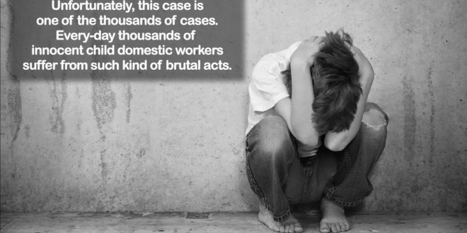 Child Abuse Violence on Child Domestic Workers