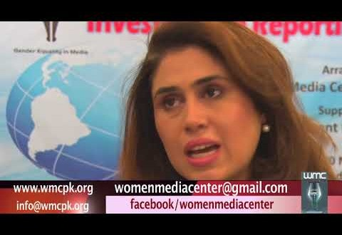 Tanzila Mazhar comments on WMC