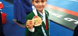 Ayesha Ayaz, a 9 years of old girl making Pakistan proud by winning the gold Medal