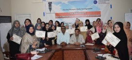 "Five-Day Electronic Media Training Workshop on the topic  ""LOCAL BODY ELECTIONS- ROLE OF POLITICAL PARTIES TO EMPOWER LOCAL GOVERNMENT"""