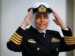 MONA SHINDY IS AUSTRALIA'S FIRST MUSLIM NAVY CAPTAIN AND ENGINEER