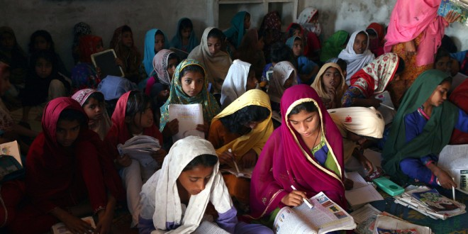 Over 13 million girls are deprived of basic education in Pakistan