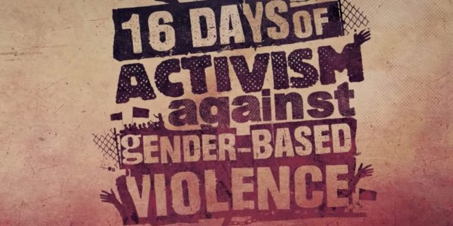 16 Days of Activism and the News Media in 2020