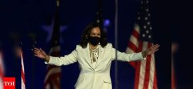 Kamala Harris delivers first speech as vice president-elect