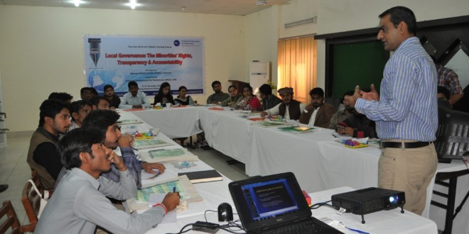 "HYDERABAD WORKSHOP: ""LOCAL GOVERNANCE: THE MINORITIES' RIGHTS, TRANSPARENCY & ACCOUNTABILITY"" 17-21 DEC 2016″"