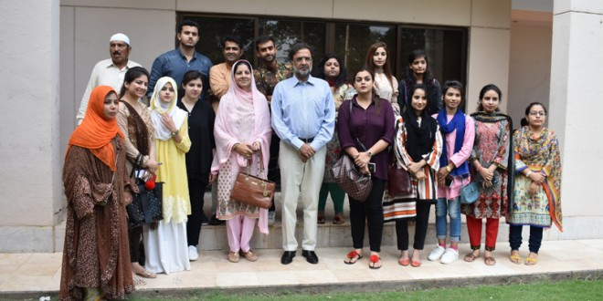 Pictures of Lahore Workshop (7-11 September 2018)