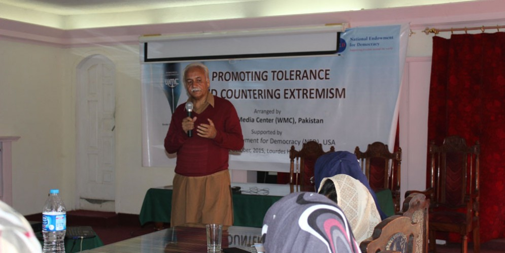 QUETTA WORKSHOP DAY TWO: PROMOTING PEACE AND COUNTERING RELIGIOUS EXTREMISM.
