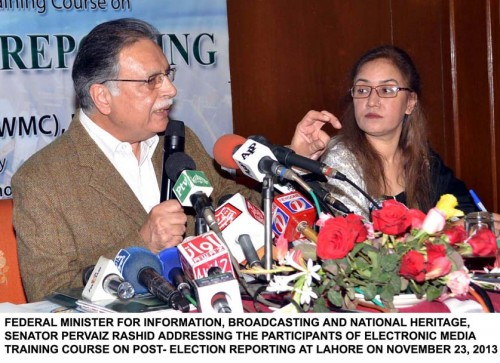 SHOWCASE CEREMONY OF 5-DAY TRAINING WORKSHOP OF WMC IN LAHORE