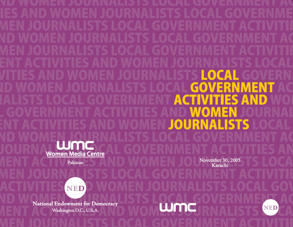 Local Government Activities and Women Journalists