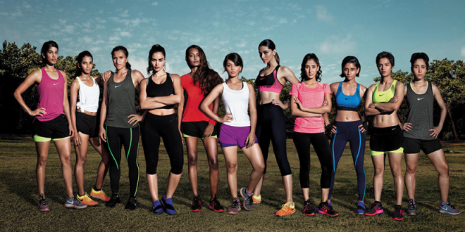 'DA DA DING – DEEPIKA AND THE GIRLS AMAZE EVERYBODY IN THE NEW NIKE ADVERT'