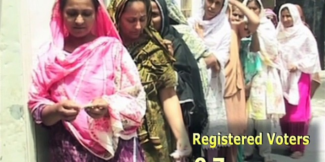 Women Voter in Pakistan