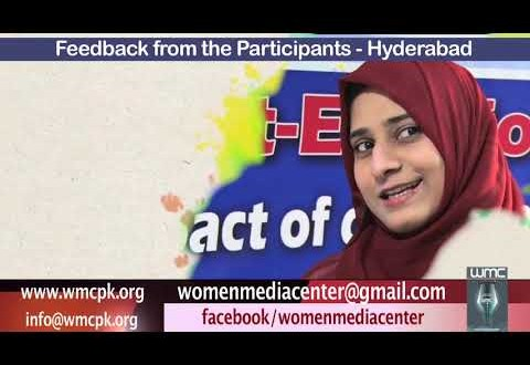 Feedback from the Participants of Hyderabad Workshop 30 Oct to 3 Nov 2018 (Part 4)