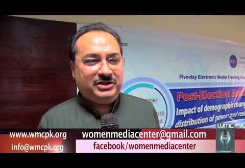 Interview of Mr. Khalid on Demographic Changes and Distribution of Power & Resources