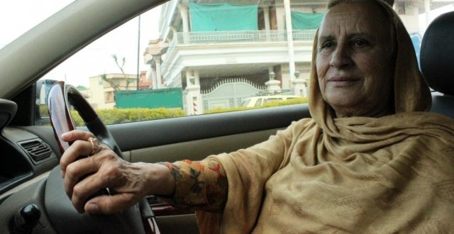 Pakistan's First Female Taxi Driver
