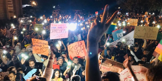 Int' Women's Day: Thousands hit streets of Pakistan to counter misogynist mind set of society