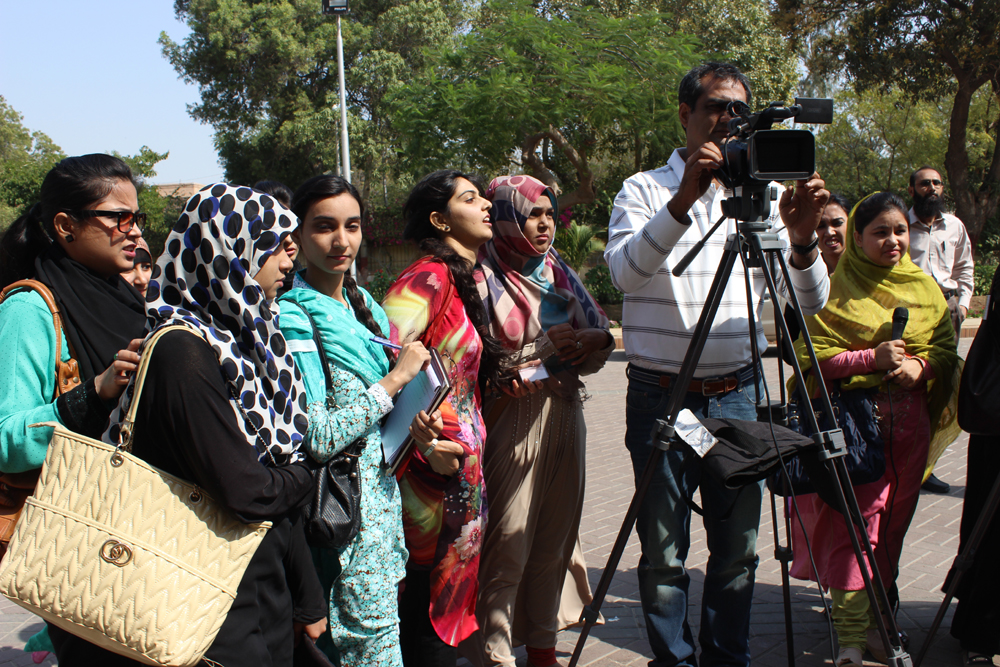 PICTURE GALLERY OF KARACHI WORKSHOP (2-11TH FEB 2015)